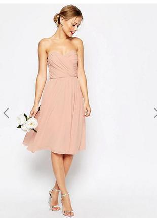 Воздушное нежное платье от asos