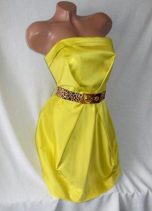 -40% от цены  короткое платье бюстье river island нарядное праздник -40% от цены