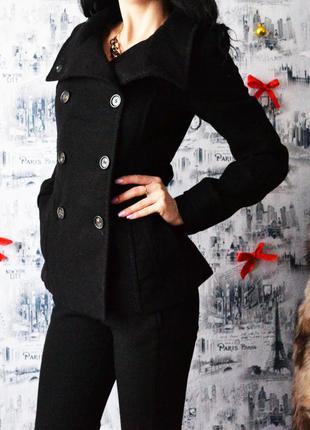 Пальто - пиджак  н&m воротник стойка