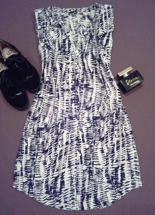 Платье размер м.100%вискоза