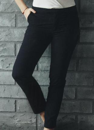Классические синие штаны h&m размер s м