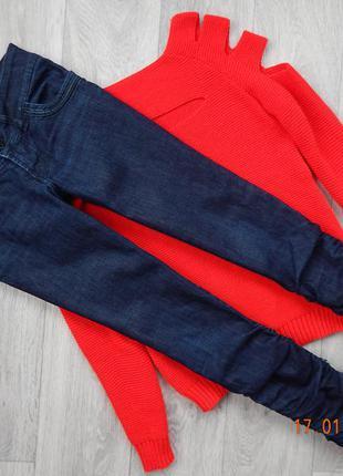 Шикарные джинсы скинни pull&bear р.м