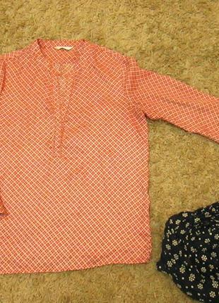Цветная яркая блузка французского бренда  «promod»