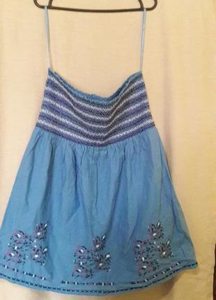 Новое платье без бретелек