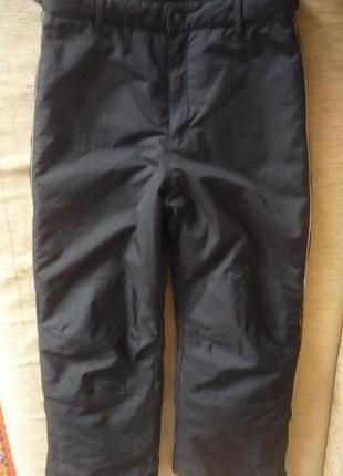 Супер лыжные теплые спортивные штаны с-хс