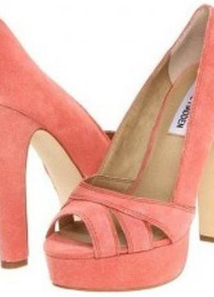 Туфли с открытым носком steve madden