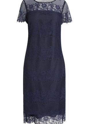 Шикарное гипюровое платье next