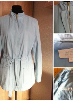 Ветровка куртка marks & spencer голубая