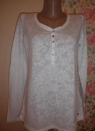 Стильний ажурний реглан-блуза від  h&m