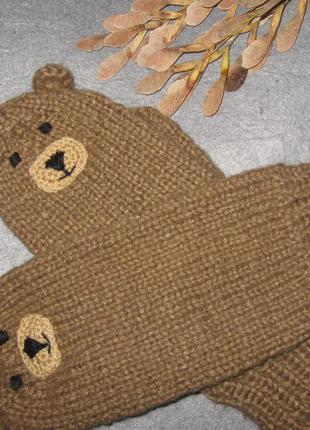 Рукавички-ведмедики