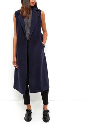 Пальто без рукавов new look