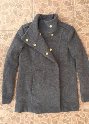 Пальто mango! очень стильное! размер м