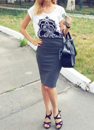 Красивая юбка на каждый день stradivarius