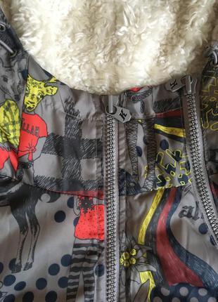 Стилька куртка killah з ілюстраціями