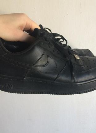 Кроссовки nike air force оригинал черные