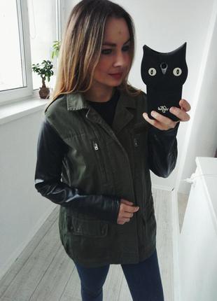 Куртка милитари topshop
