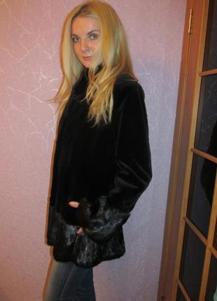 Изысканная норковая шуба - пальто от levinson.