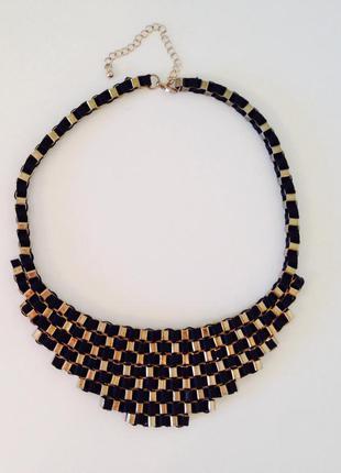 Колье ожерелье h&m