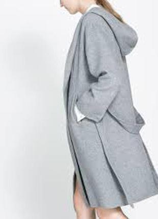 Zara пальто-халат