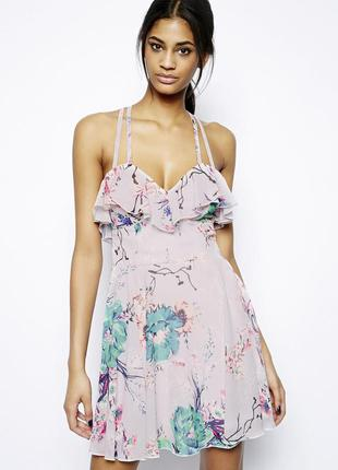 Красивенное женственное платье lipsy asos