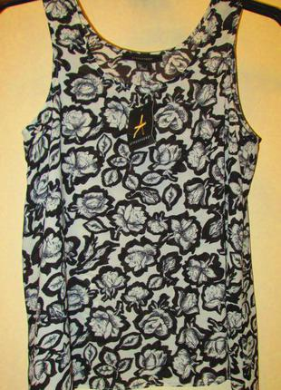 Красивая легкая блуза маечка atmosphere размер 8