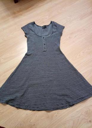 Полосатое платье asos