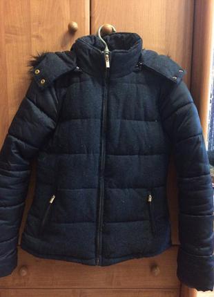 Стильная теплая куртка stradivarius
