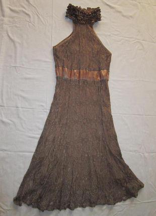 Красивое платье, гипюр