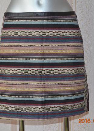 Модная юбка гобелен