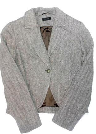 Шикарный пиджак vero moda, в составе есть шерсть