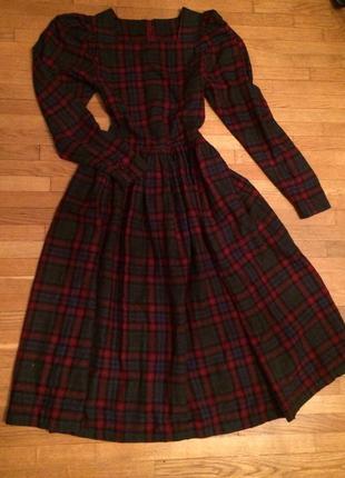 Платье ретро винтаж от laura ashley