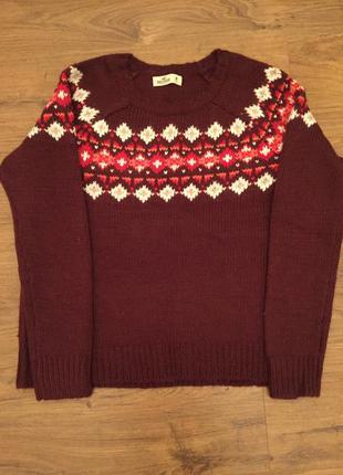Очень милый свитер hollister