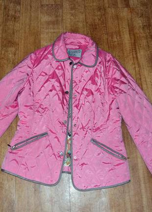 Яркая легкая розовая ветровка,куртка, курточка canda, c&a
