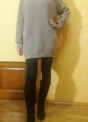 Свитер-платье от cos