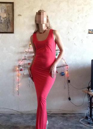Летнее платье vila clothes pocket maxi dress