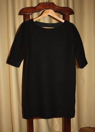 Очень теплое, уютное платье с вареной шерсти cos