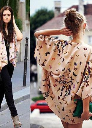 Летняя куртка-кимоно, накидка, пиджак