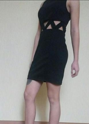 Платье с переплетами от hearts & bows