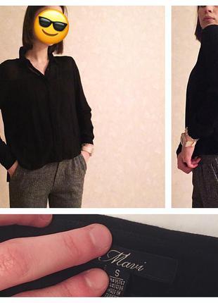 Чёрная рубашка от mavi