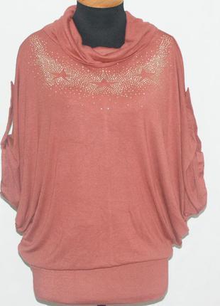 Блуза женская 50-52-54-56-58-60 звезды