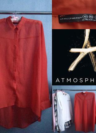 Яркая полупрозрачная блуза от atmosphere