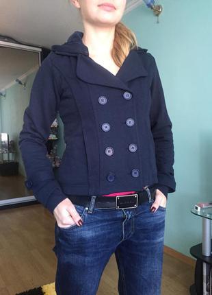 Кофта пиджак утеплённая