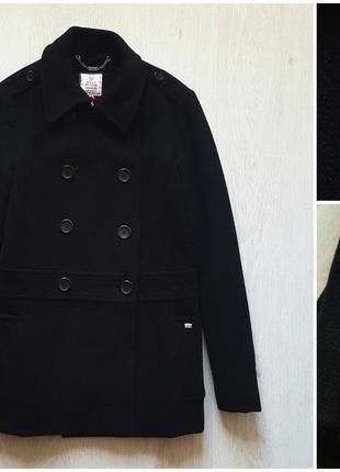 Черное классическое пальто esprit