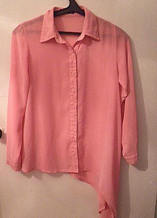 Оригинальная красивая блуза-рубашка
