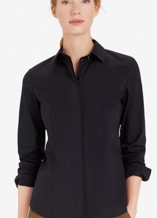 Рубашка шоколадного цвета marc o polo