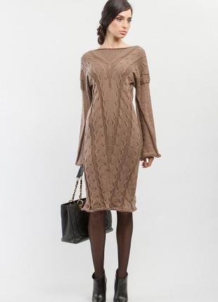 Вязанное платье миди от bgl большой размер