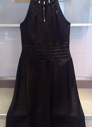 Платье нарядное со стразами сваровски vera mont оригинал