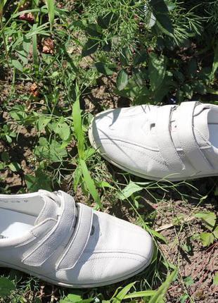 Ortoped.comfort брендовые мокасины/туфли германия 38-39 ,100%натур.кож