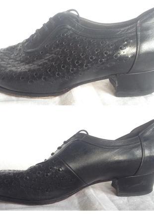 Туфли танцевальные тренировочные 23 см по стельке