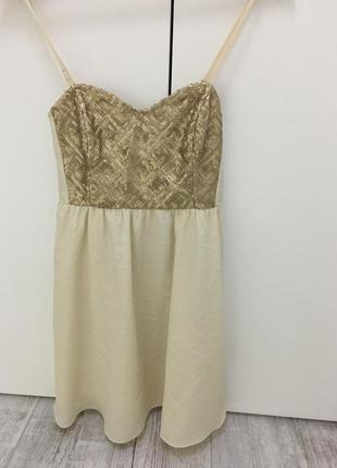 Очень кокетливое платьице-бюстье от h&м!